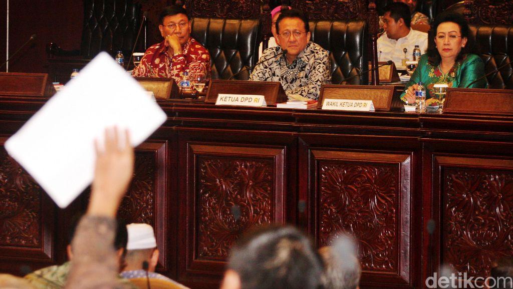 Pimpinan DPD Akhirnya Teken Tatib Soal Masa Jabatan di Paripurna