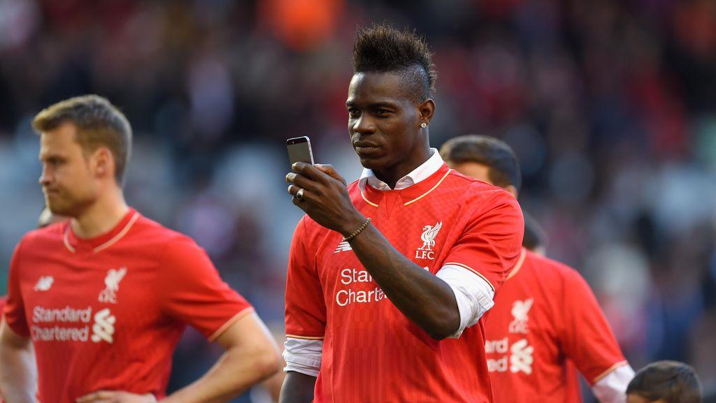 Tinggalkan Liverpool, Balotelli Gabung Nice