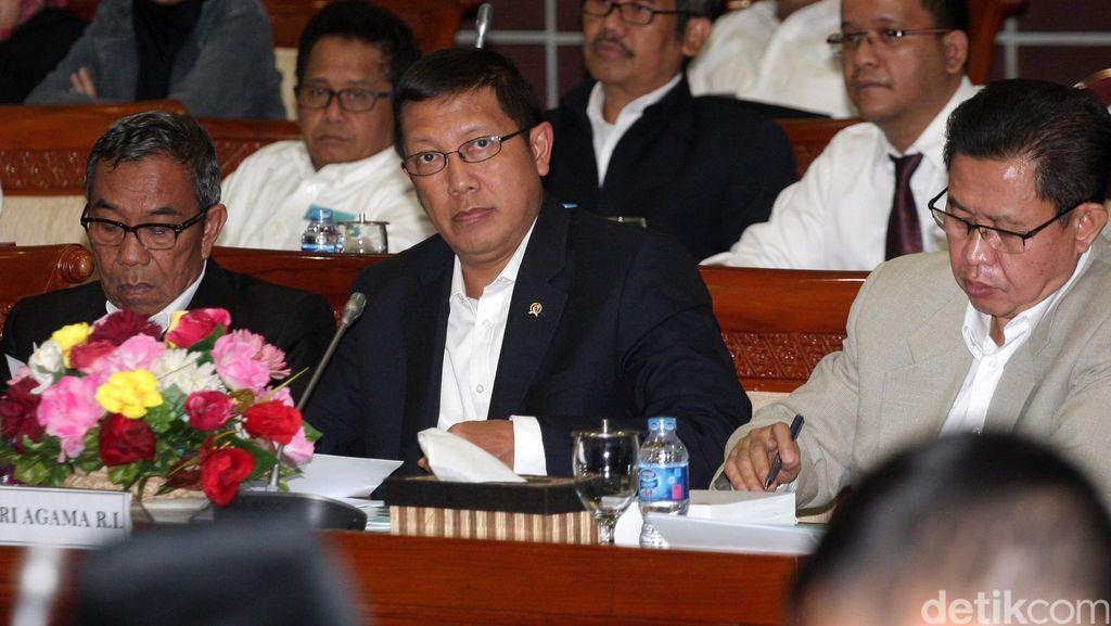 Menag Datangi Komisi VIII, Bahas Biaya Ibadah Haji