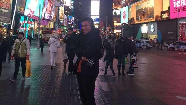 Baim Wong Narsis Banget di New York