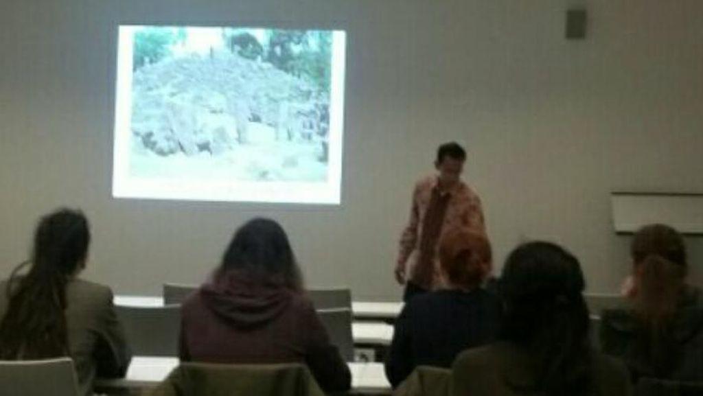 Gunung Padang Bikin Peneliti dan Mahasiswa Jerman Penasaran