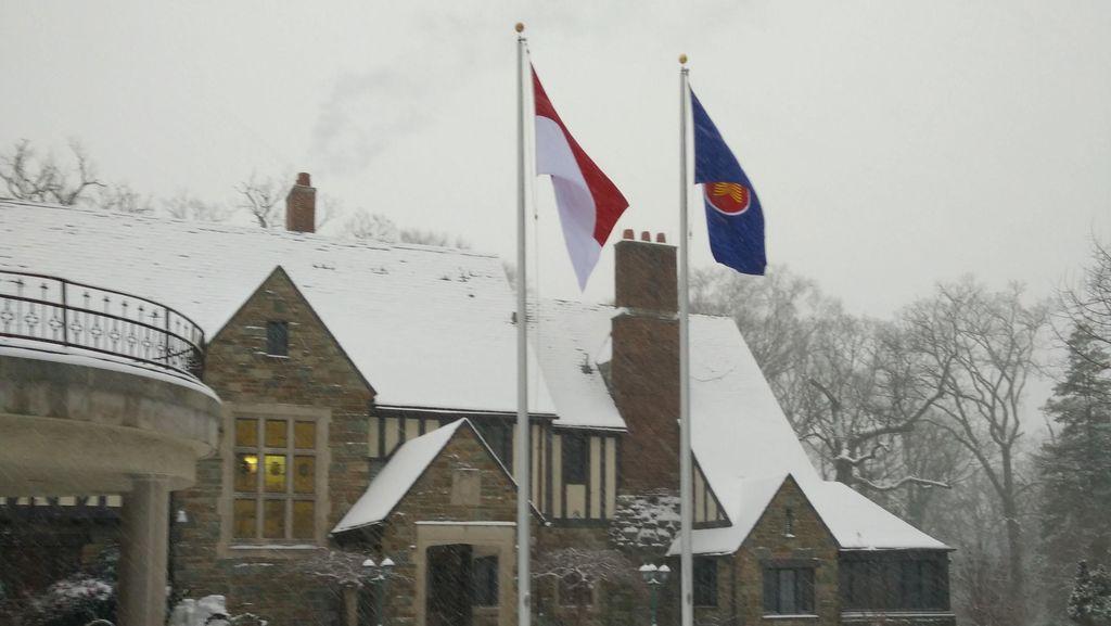 Washington DC Siaga Hadapi Badai Salju, Kota Terancam Lumpuh