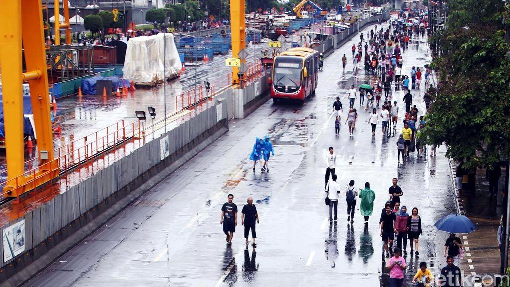 Siapkan Payung, Jakarta Hari ini Akan Diguyur Hujan