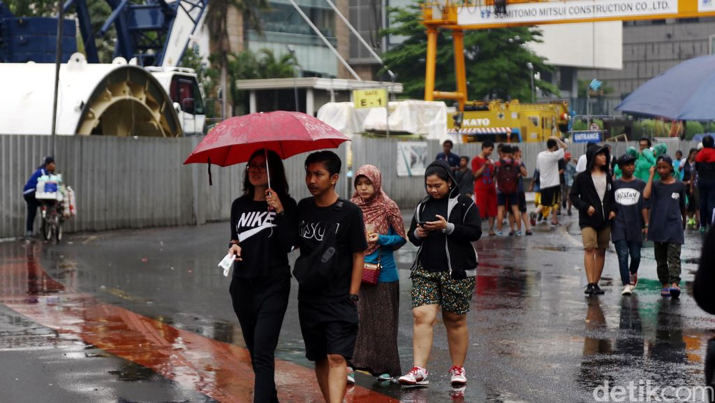BMKG Prediksi Puncak Musim Hujan Terjadi di Akhir Januari dan Awal Februari