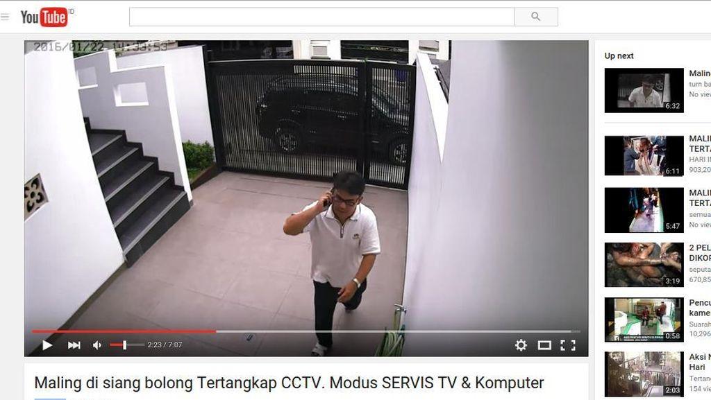 Polisi Akan Sebar Foto Wajah Pelaku Pencurian Bermodus Servis TV di Pluit