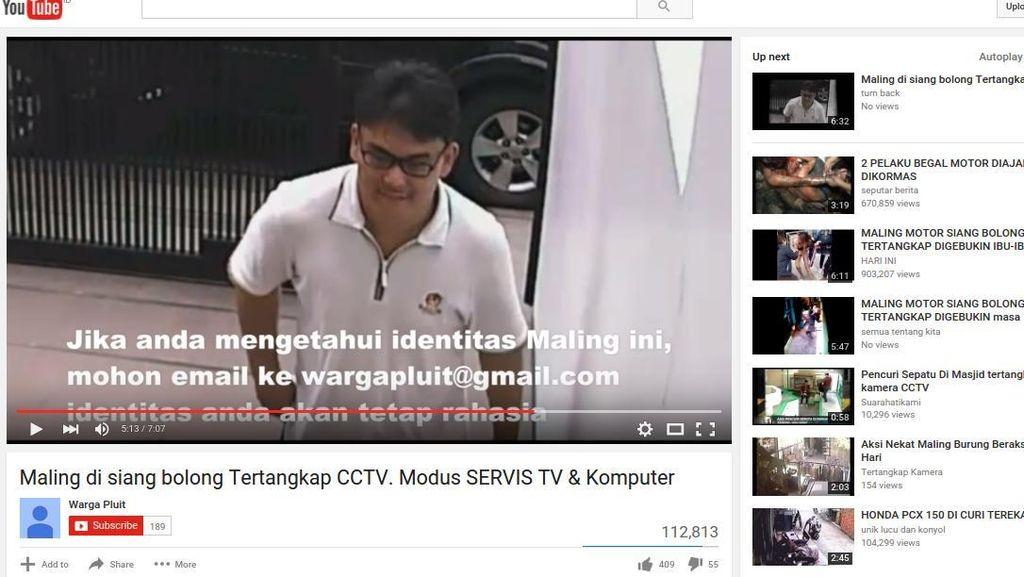 Polisi Masih Buru Pencuri Bermodus Servis TV di Pluit