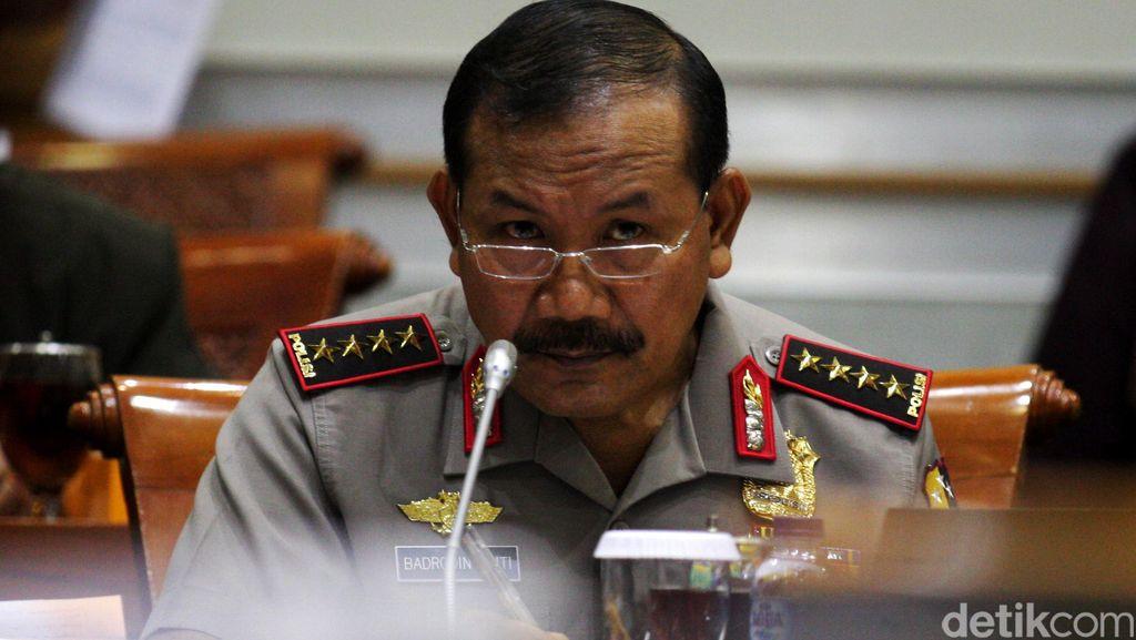 Bertemu Pimpinan DPR, Kapolri Beri Masukan Pengamanan Parlemen