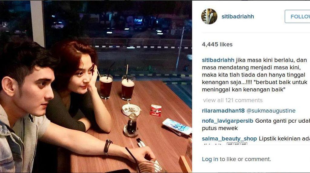 Setelah Berdarah Inggris, Siti Badriah Gandeng Cowok Arab