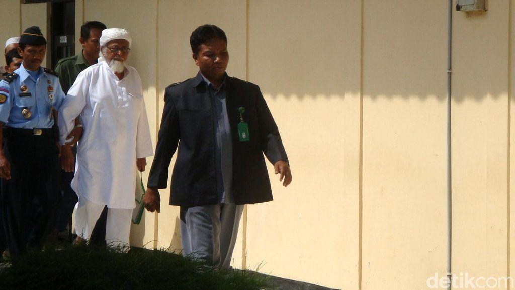 Sidang PK Abu Bakar Baasyir dilanjutkan Dua Pekan Kedepan