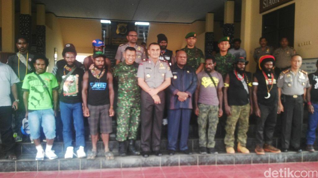 Kapolda Papua: Status Hukum 10 Eks OPM yang Menyerah Tunggu Kebijakan Pusat