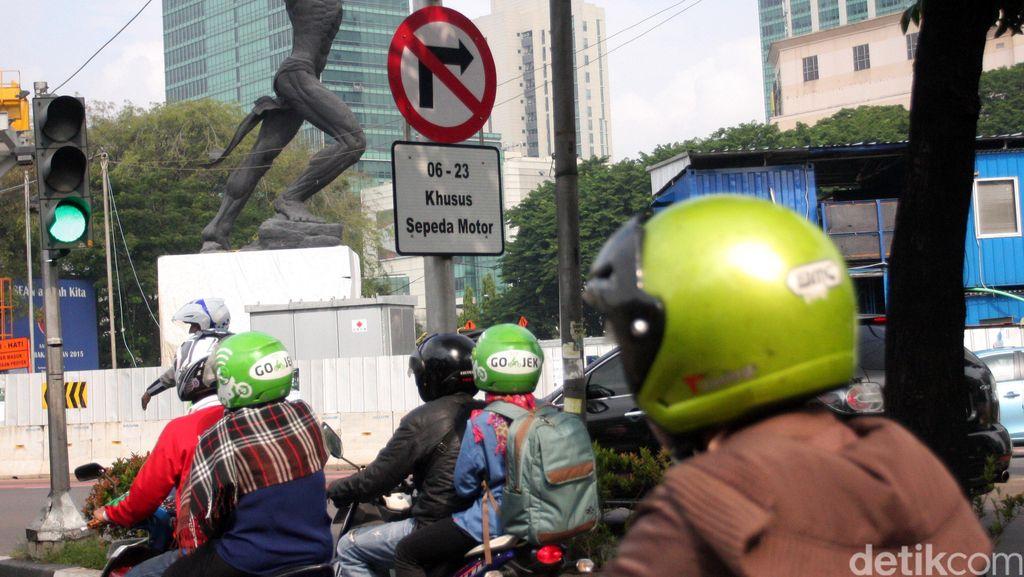 Zona Larangan Motor di Sudirman-Thamrin Belum Pasti Diberlakukan 1 Mei
