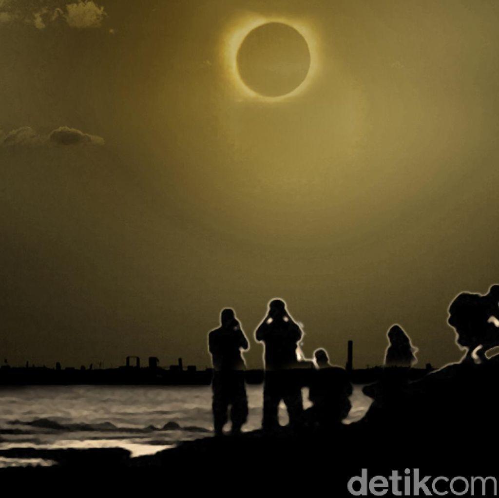Begini Pengaruh Gerhana Matahari Pada Perilaku Hewan