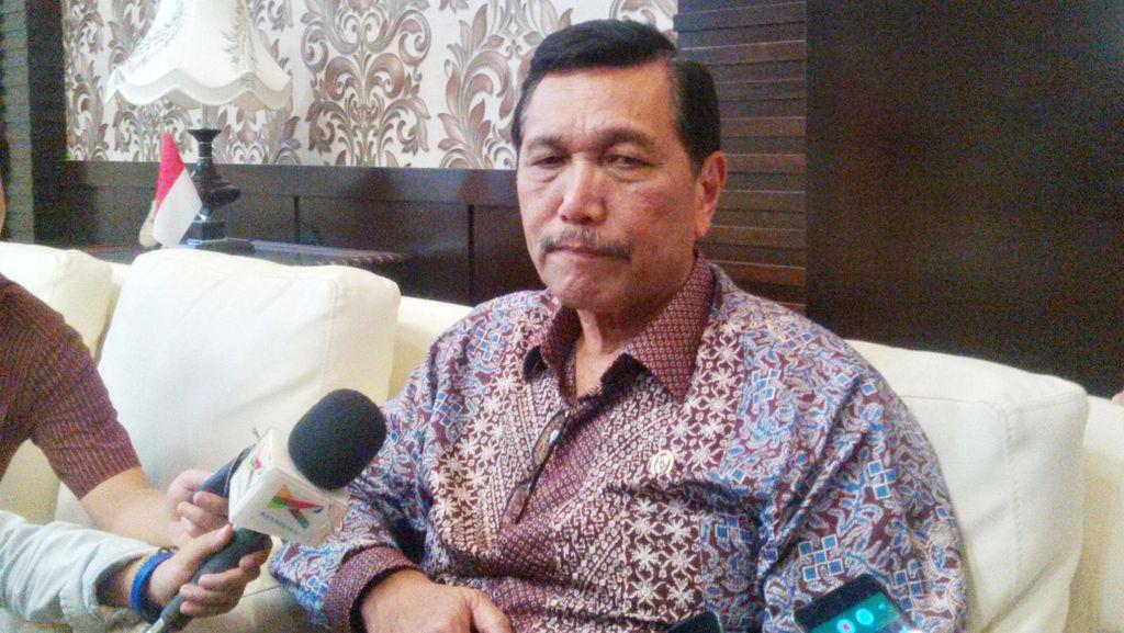 Soal Revisi UU KPK, Luhut: Presiden Setuju Soal Penyadapan dan Dewan Pengawas