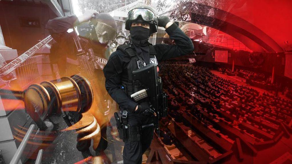 Pansus RUU Terorisme DPR Masih Kaji Soal Penambahan Peran TNI