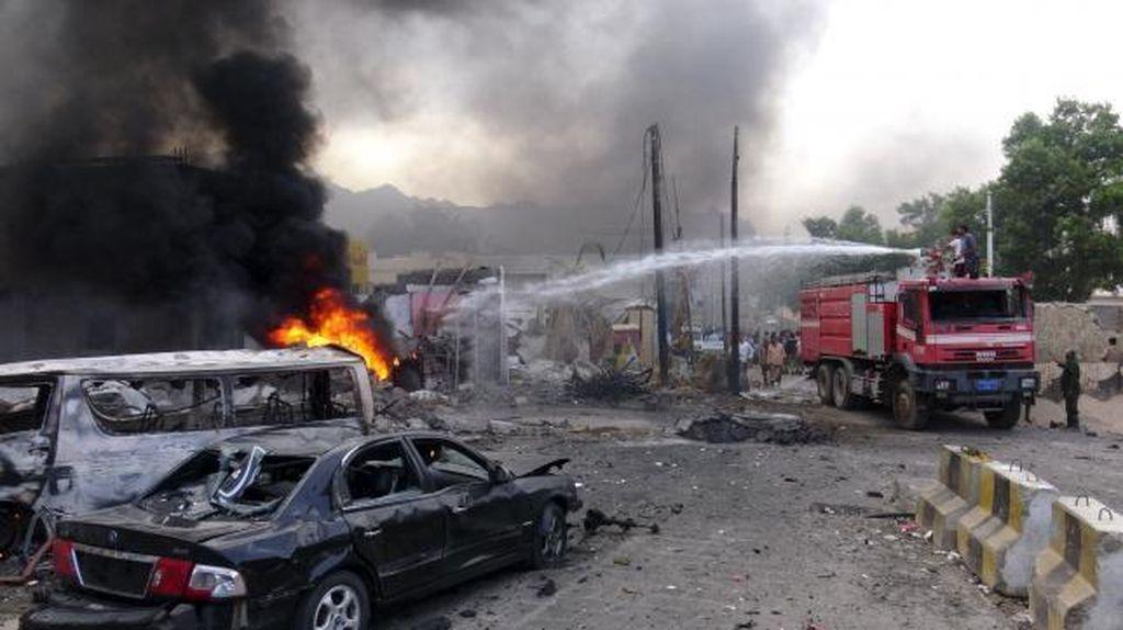 Bom Meledak di Luar Kediaman Presiden Yaman, ISIS Klaim Sebagai Dalangnya