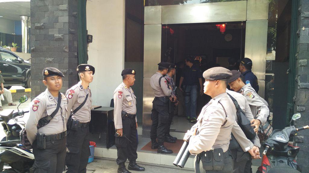 Petugas BNN Jemput Tersangka dari Hotel di Tanah Abang, Bukan Penggerebekan