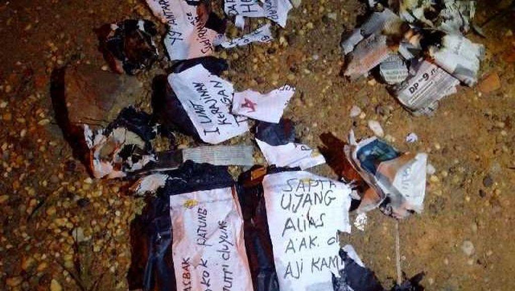 2 Terduga Pelaku Bom Jambi Dibekuk di Hotel
