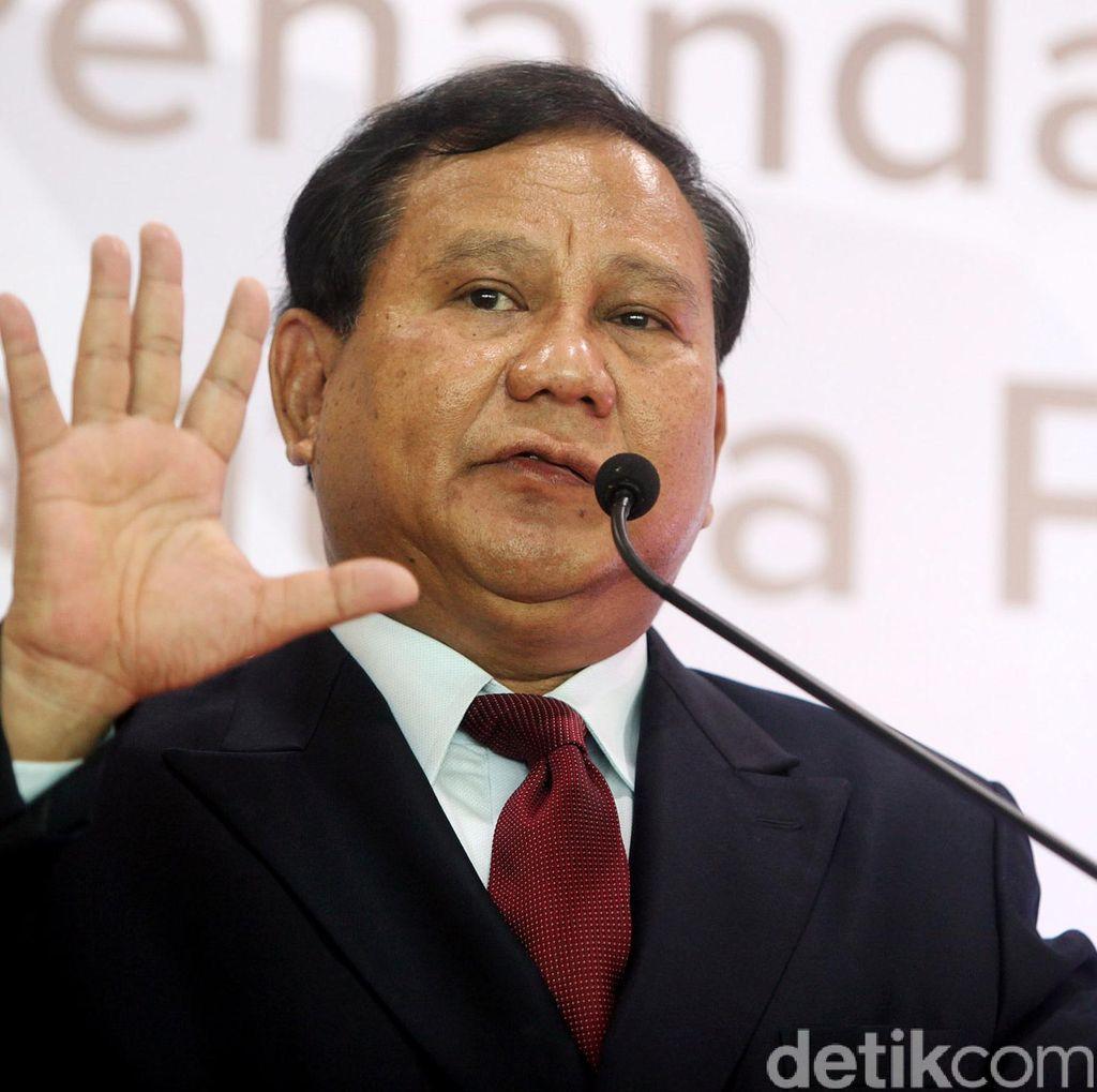 Kecewa KMP Tamat? Ini Jawaban Prabowo