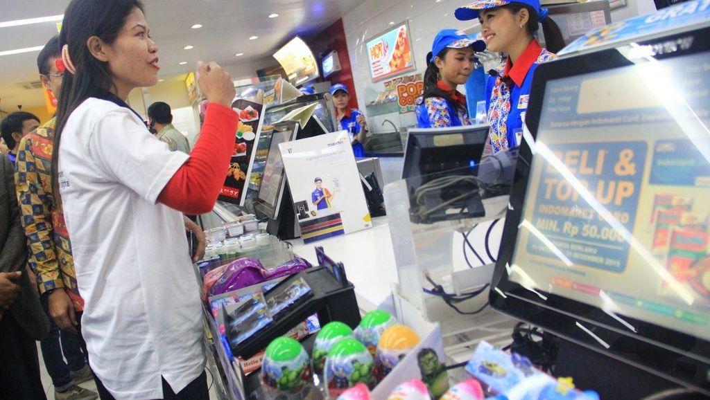 Bank Mandiri Gandeng Indomaret Jadi Agen Branchless Banking