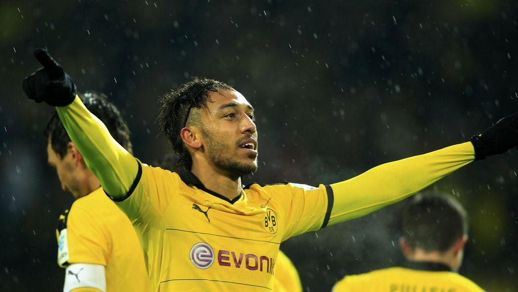 Hanya Madrid yang Bisa Membuat Aubameyang Meninggalkan Dortmund