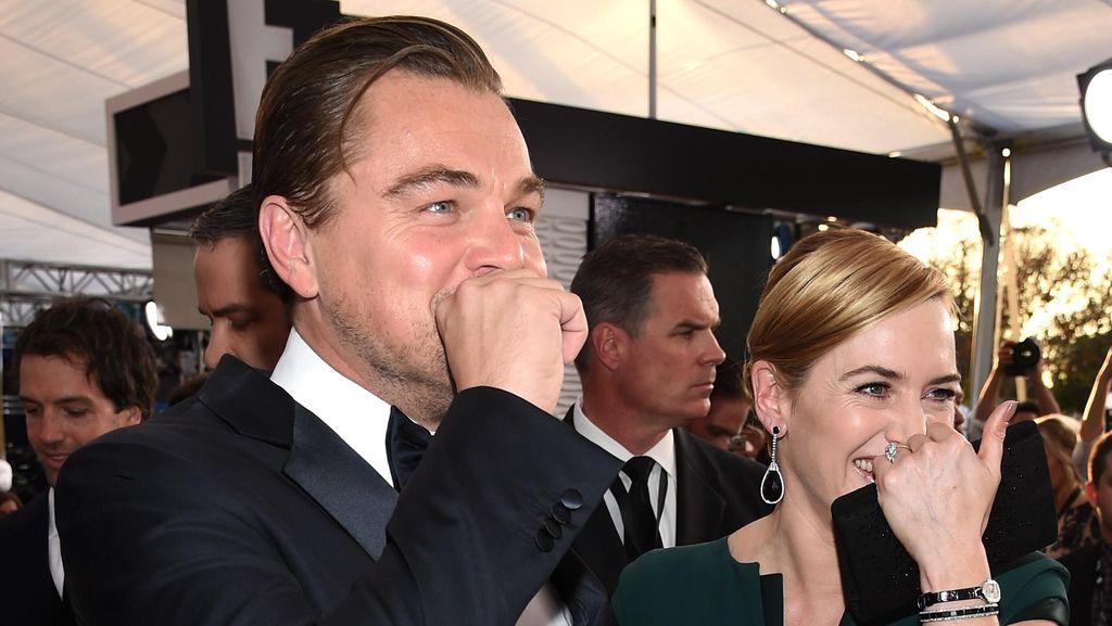 Kate Winslet Bicara Soal Reuni dengan Leonardo DiCaprio di SAG Awards