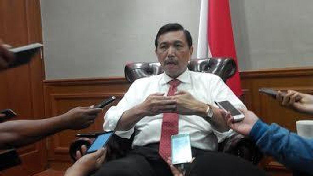Rapat di DPD, Luhut Tegaskan Sedang Bersih-bersih Oknum Korup di Papua