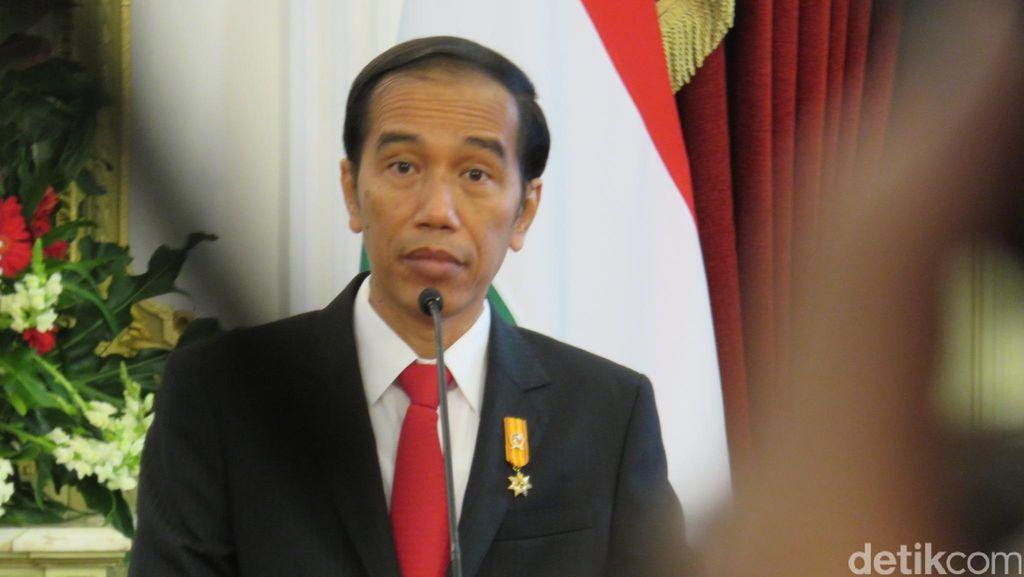 Di Depan Bos Media, Jokowi Bacakan Judul Berita yang Ganggu Masyarakat