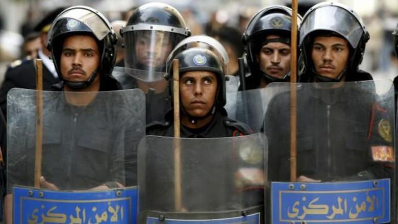 8 Polisi di Mesir Tewas Diberondong Tembakan oleh ISIS di Jalanan