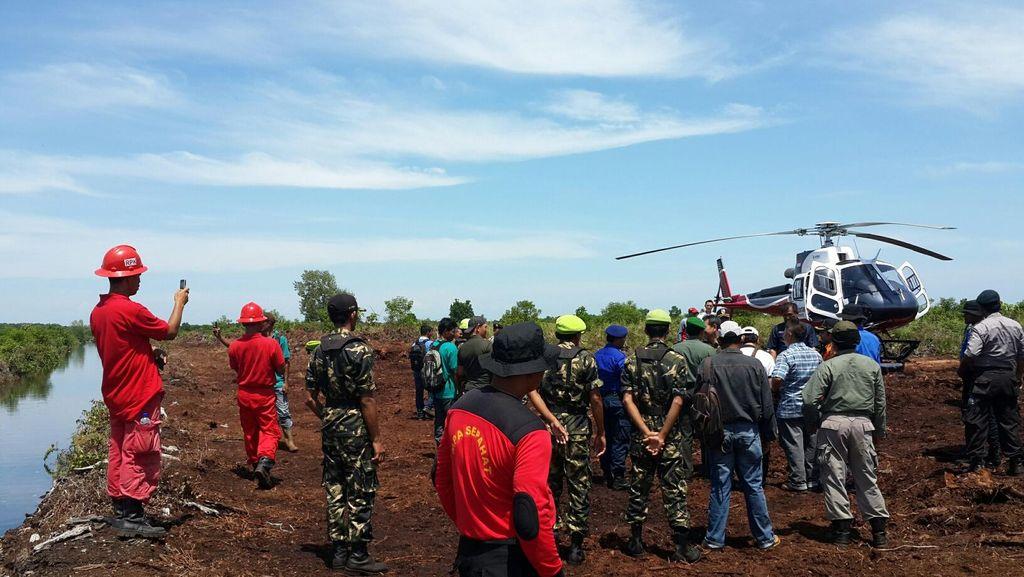 Antisipasi Kebakaran Hutan, TNI Bangun Sekat Kanal di Bengkalis Riau