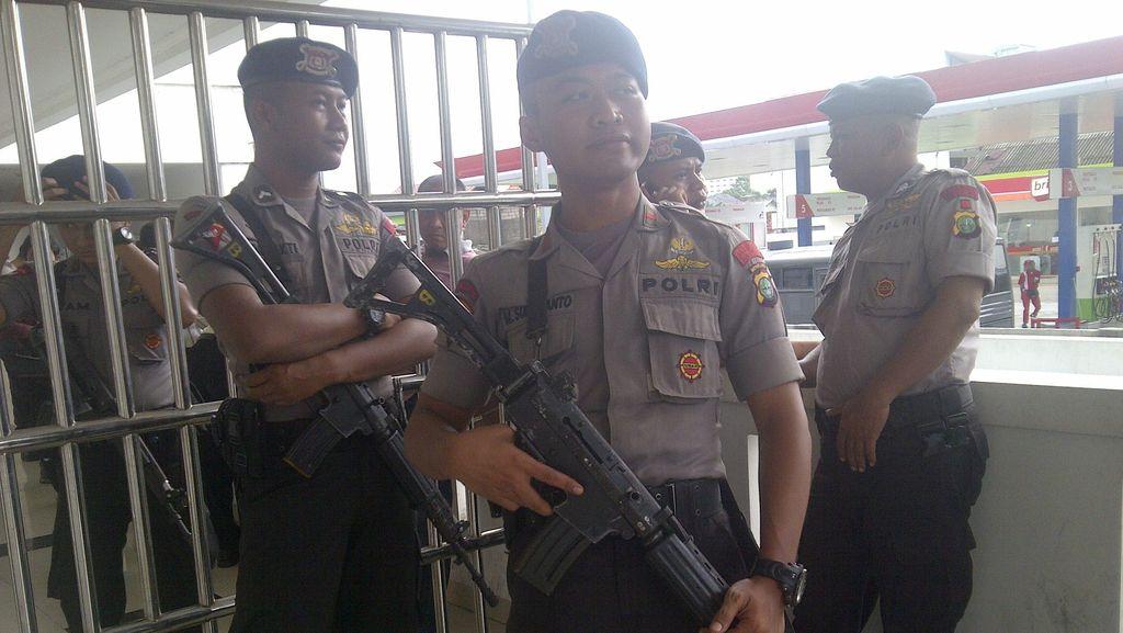 Sidang Tuntutan Simpatisan ISIS, Polisi Perketat Pengamanan PN Jakbar