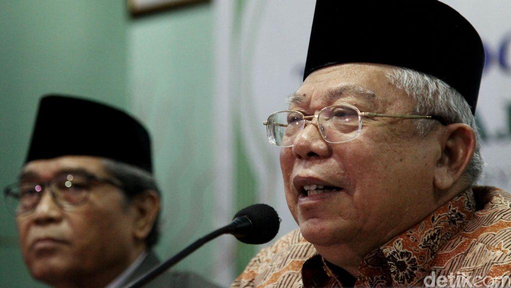 Jalani Observasi, Ketua MUI Maruf Amin Dirawat di RS Pusat Otak Nasional
