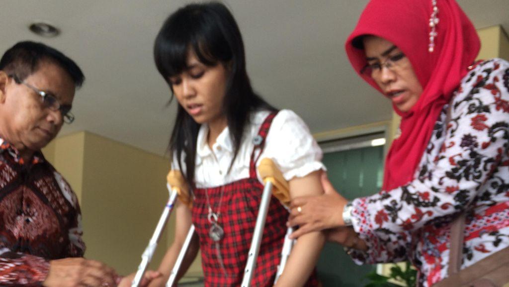 Anggun, Korban Bom Thamrin Masih Trauma Lihat Pos Lalu Lintas