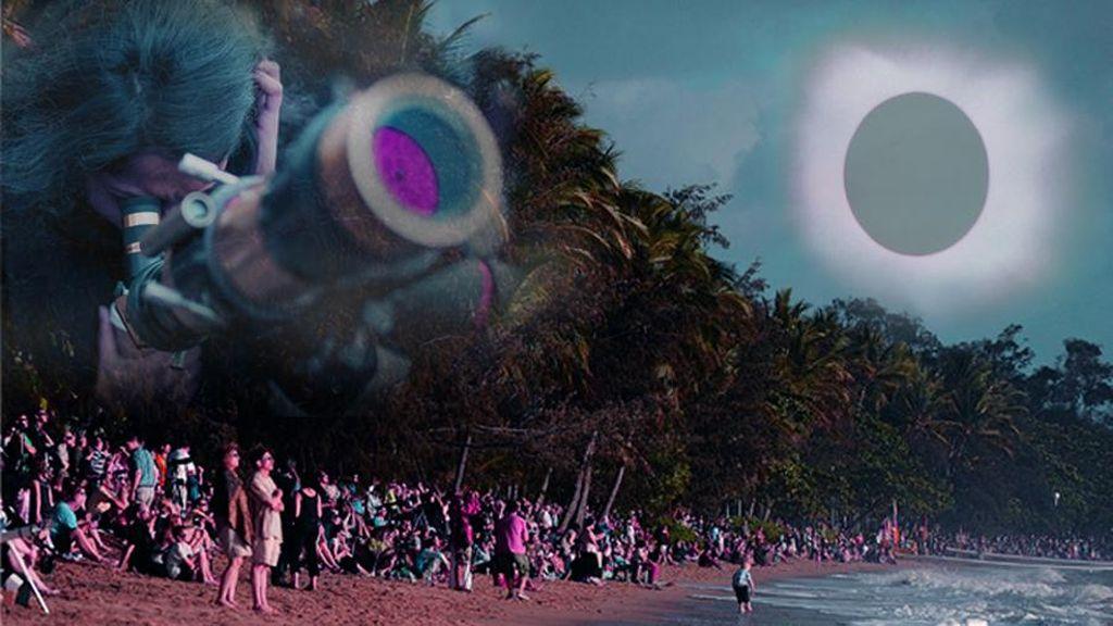 Gerhana 1988 Disambut Muda-mudi Bangka dengan Berkemah di Pantai