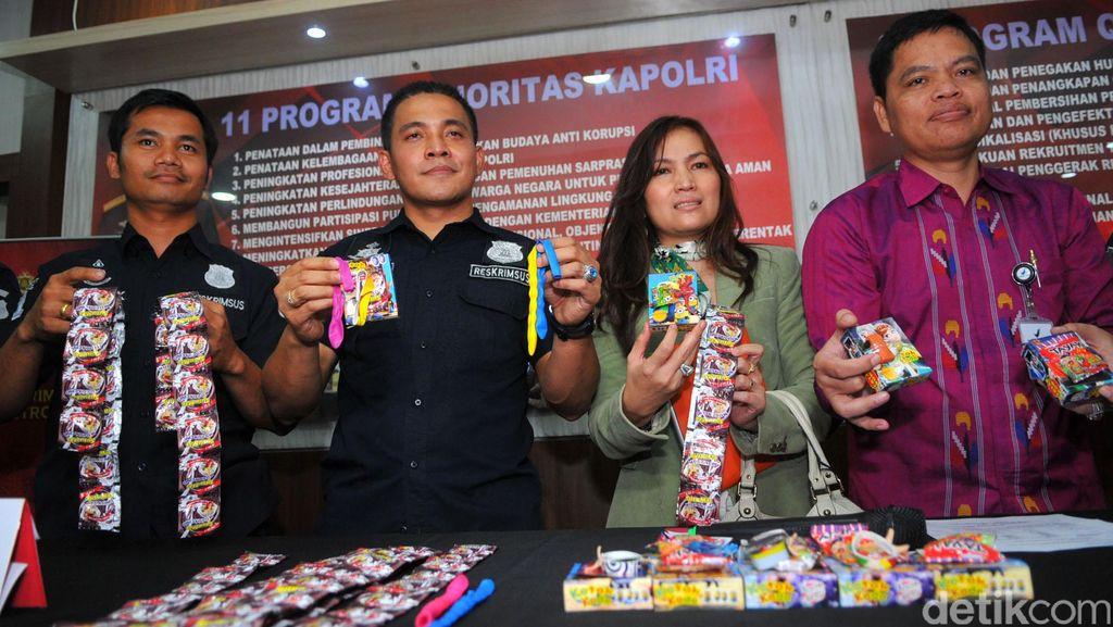Puslabfor: Komposisi Kimia Mainan di Kotak Kado Beda dengan Kondom