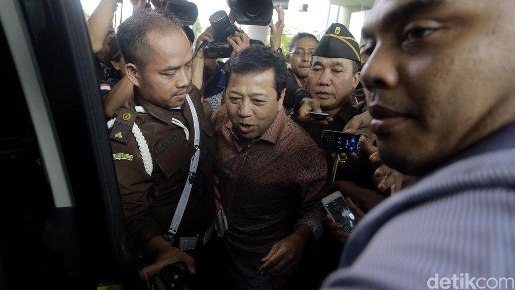 Kepada Penyelidik, Novanto Membantah Isi Rekaman Papa Minta Saham