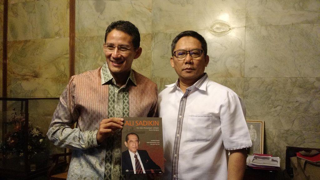 Sandiaga Uno: Salut Buat Ahmad Dhani, Jakarta Butuh Cinta