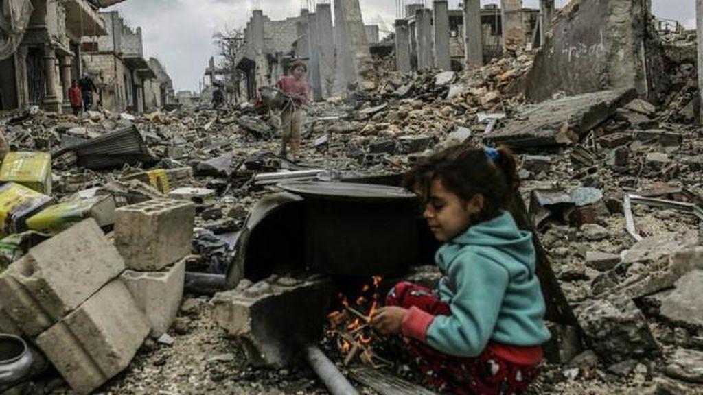 PBB Hentikan Perundingan Damai Suriah di Jenewa
