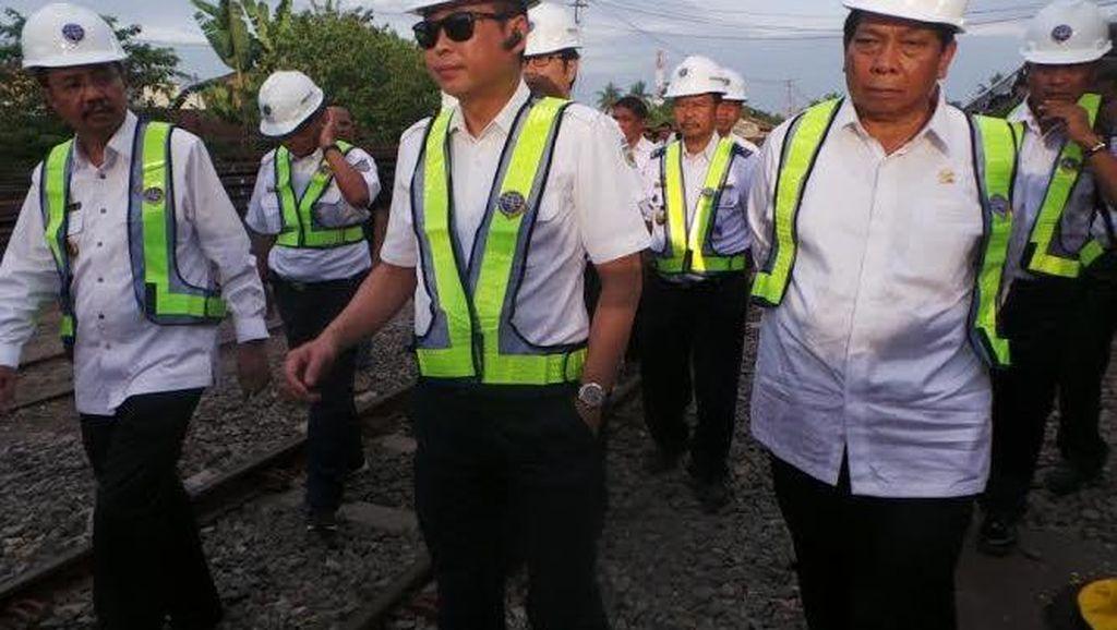 Menhub Harap Pembangunan Double Track Medan-Kualanamu Selesai Tahun ini