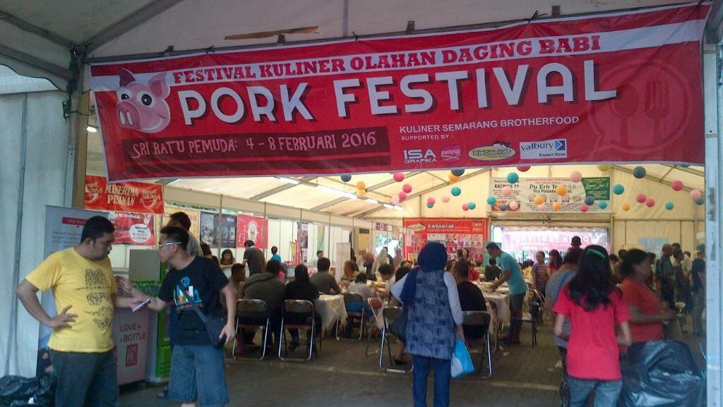 Pork Festival, Event Kuliner Unik di Semarang Jelang Imlek