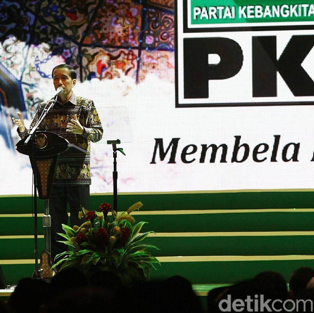 Presiden Jokowi Buka Mukernas PKB