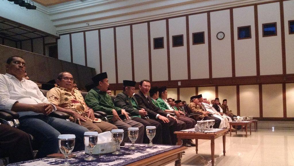 Cerita Ahok di Depan GP Ansor: PKB Pernah Jadi Partai Kereta Basuki