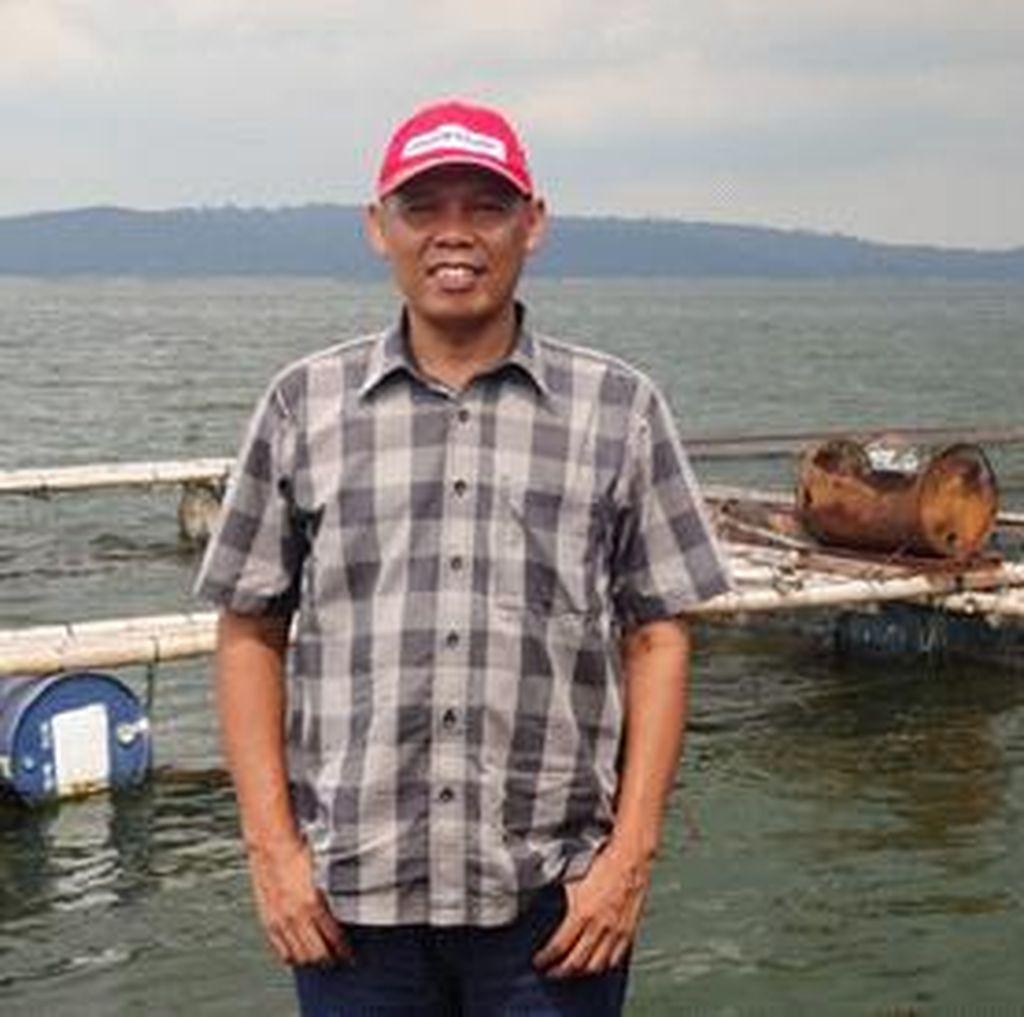 Tekun dan Kerja Keras, Yanto Sukses Jadi Juragan Ikan di Jatiluhur