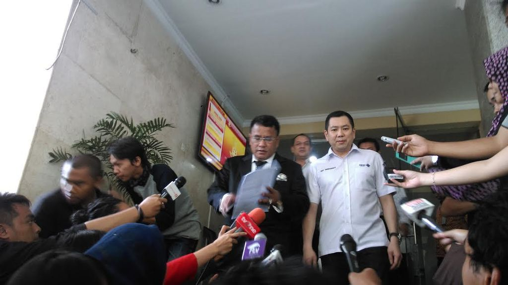 Harry Tanoe Benarkan Kirim SMS ke Jaksa Yulianto: Saya Sampaikan Misi Politik
