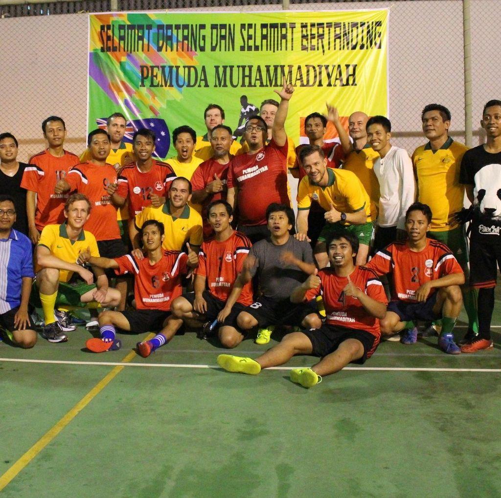 Australia-Pemuda Muhammadiyah Rekatkan Persahabatan Lewat Bola