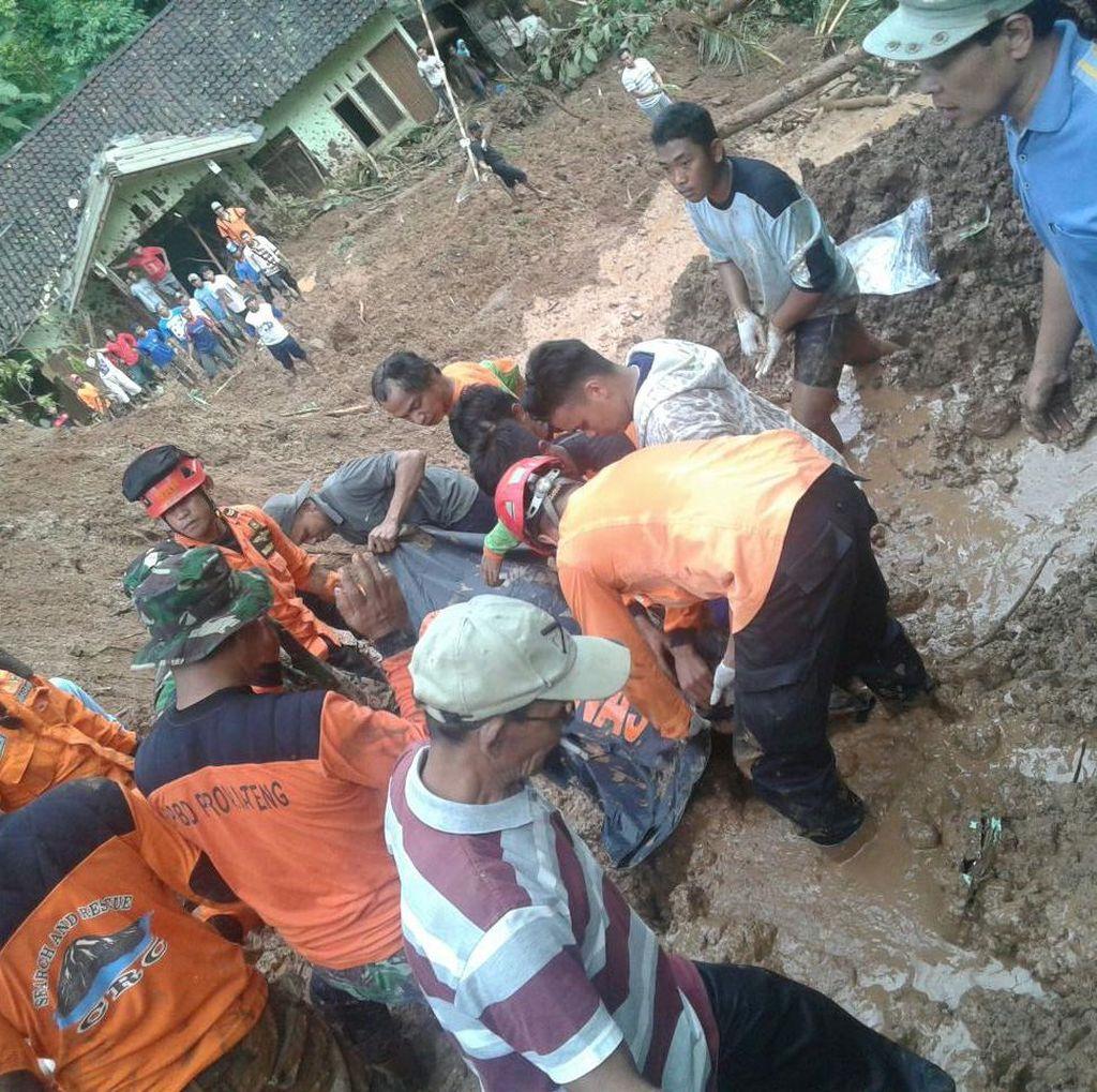 3 Dari 7 Warga yang Tertimbun Longsor di Purworejo Ditemukan Tewas
