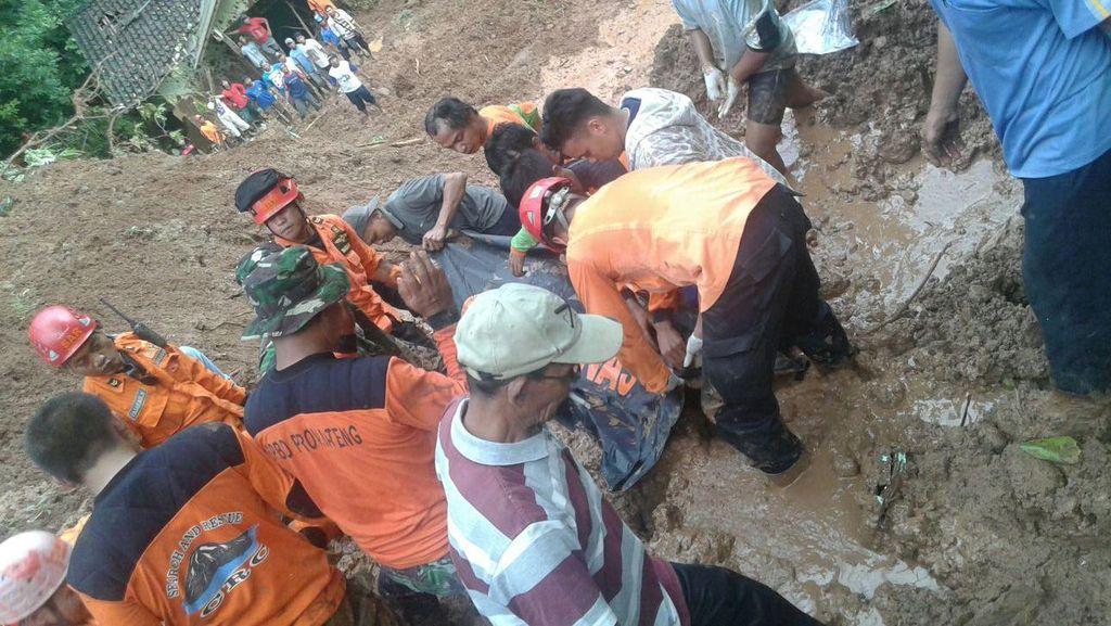 Longsor di Purworejo, BPBD: 5 Orang Tewas dan 2 Masih Dicari