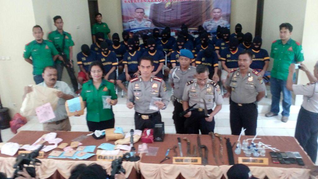 Sejak Awal 2016, 40 Pengedar Narkoba di Depok Diringkus Polisi