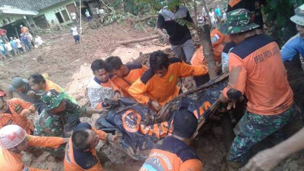 5 Korban Tewas Longsor Purworejo Ditemukan di Kedalaman 3-5 Meter