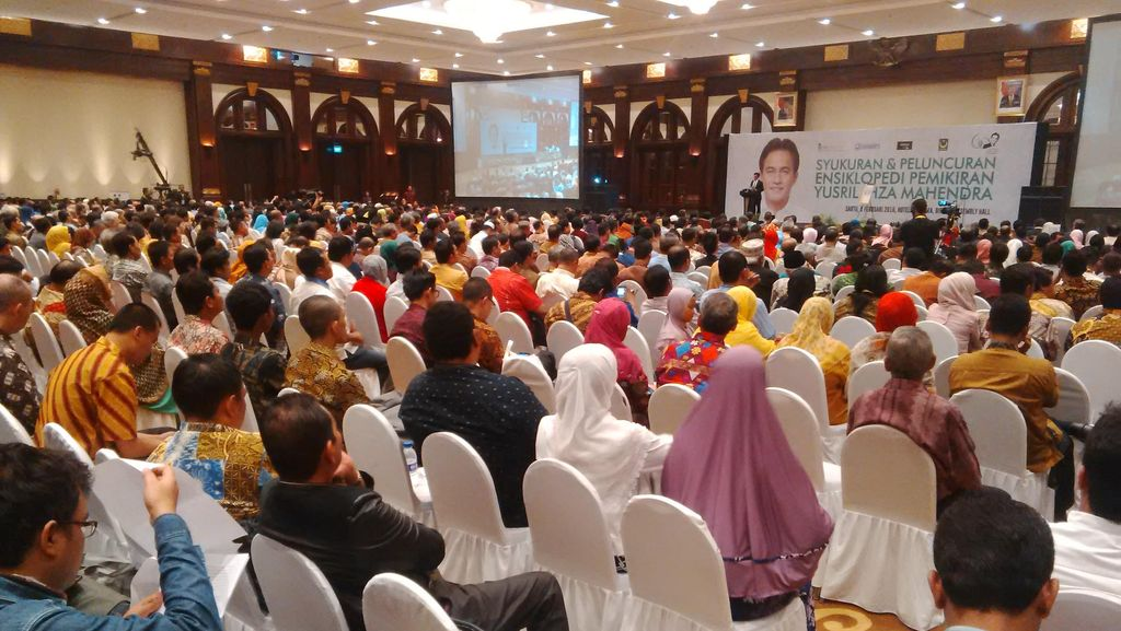 Wapres JK Hadiri Syukuran dan Peluncuran Ensiklopedi Yusril