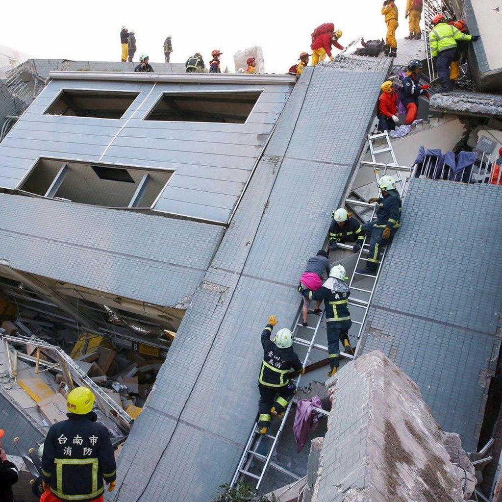 Sampaikan Simpati untuk Korban Gempa Taiwan, Jepang Tawarkan Bantuan